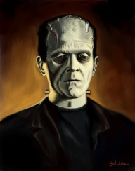 Karloff as the Monster