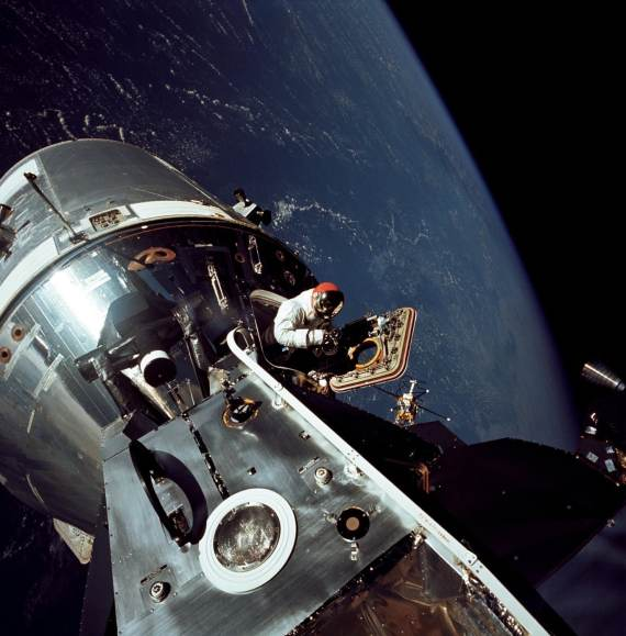 Apollo 9 Crew Spacewalk