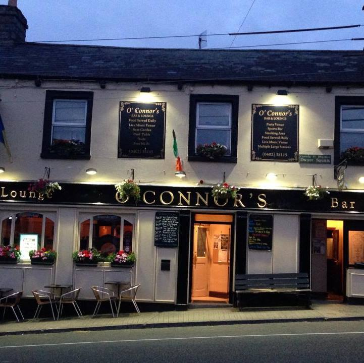 Click on the Photo to visit the Facebook Page of O'Connors Bar Tinahely