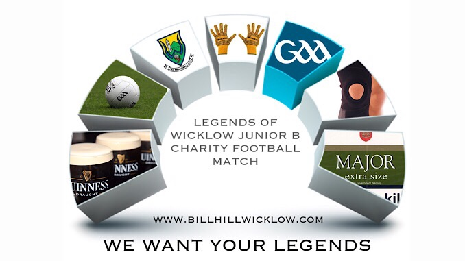 WICKLOW JUNIOR B LEGENDS CHARITY MATCH IDEA