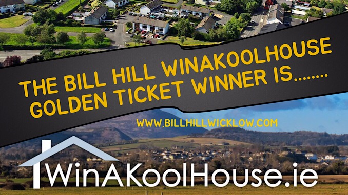 The Winner Of The Bill Hill Golden Ticket Is.........