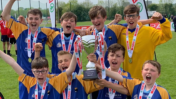 Gaelscoil Chill Mhantáin Crowned Leinster Champs