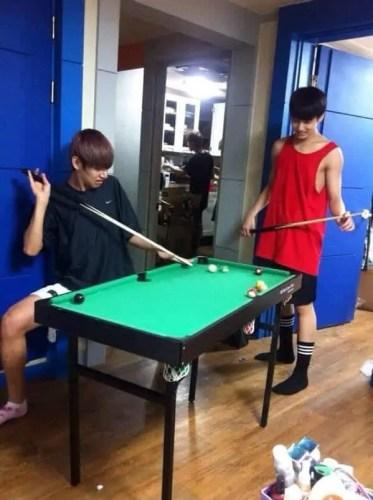 billiard room size