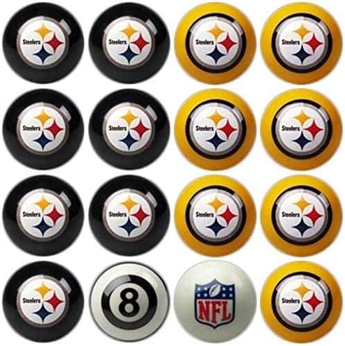 Imperial Officially Licensed NFL Home vs. Away Billiard Balls