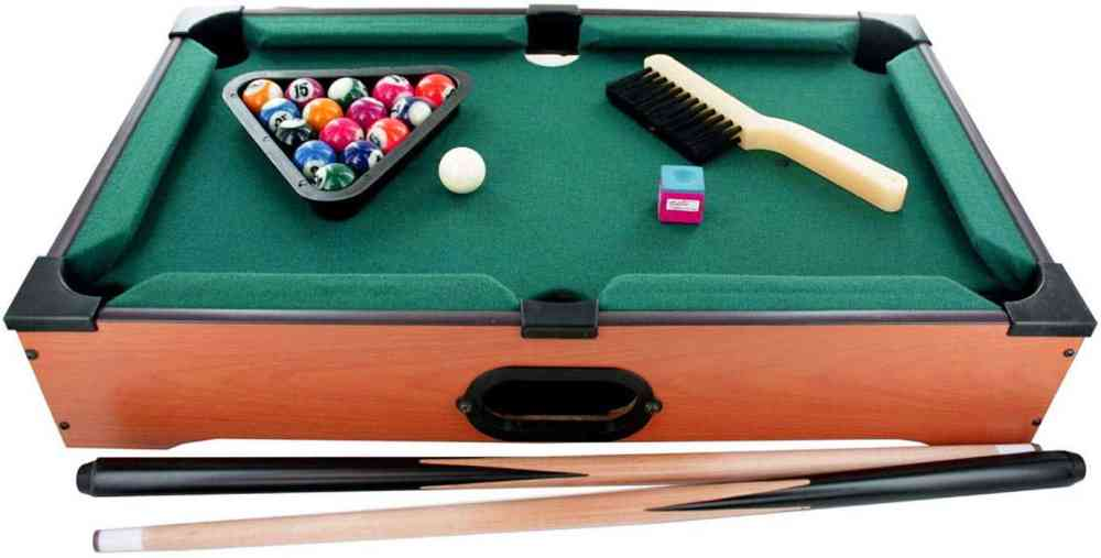 AACO Mini Pool Table Billiard Game Tabletop