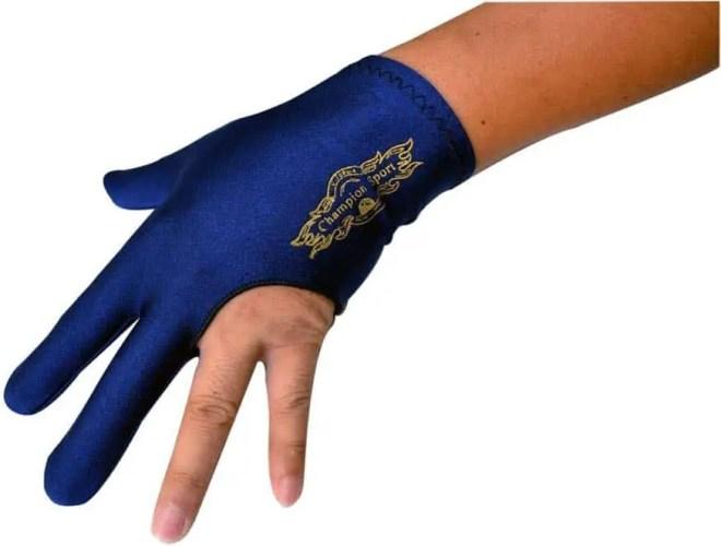 Champion Sport Dark Blue Gloves – Wear on the Left Hand