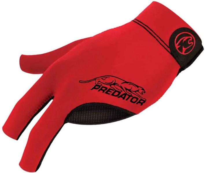 Predator Second Skin Glove Red Fits Left Bridge Hand