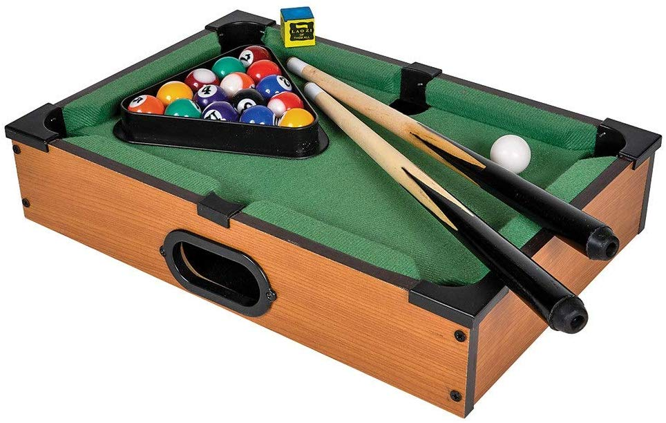 Srenta Mini Pool Table - Mini Tabletop Portable Billiard