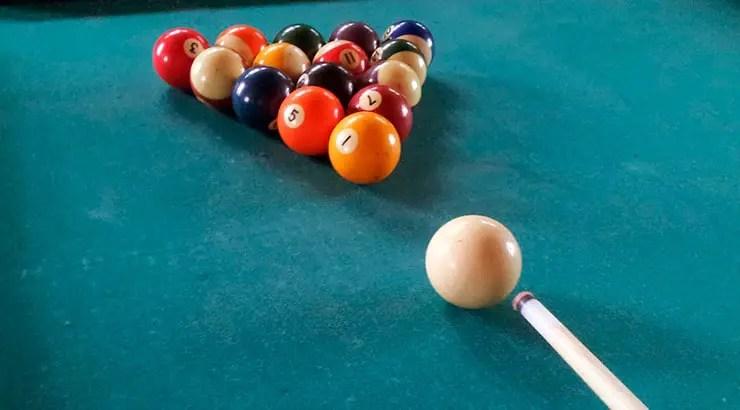 american billiard balls