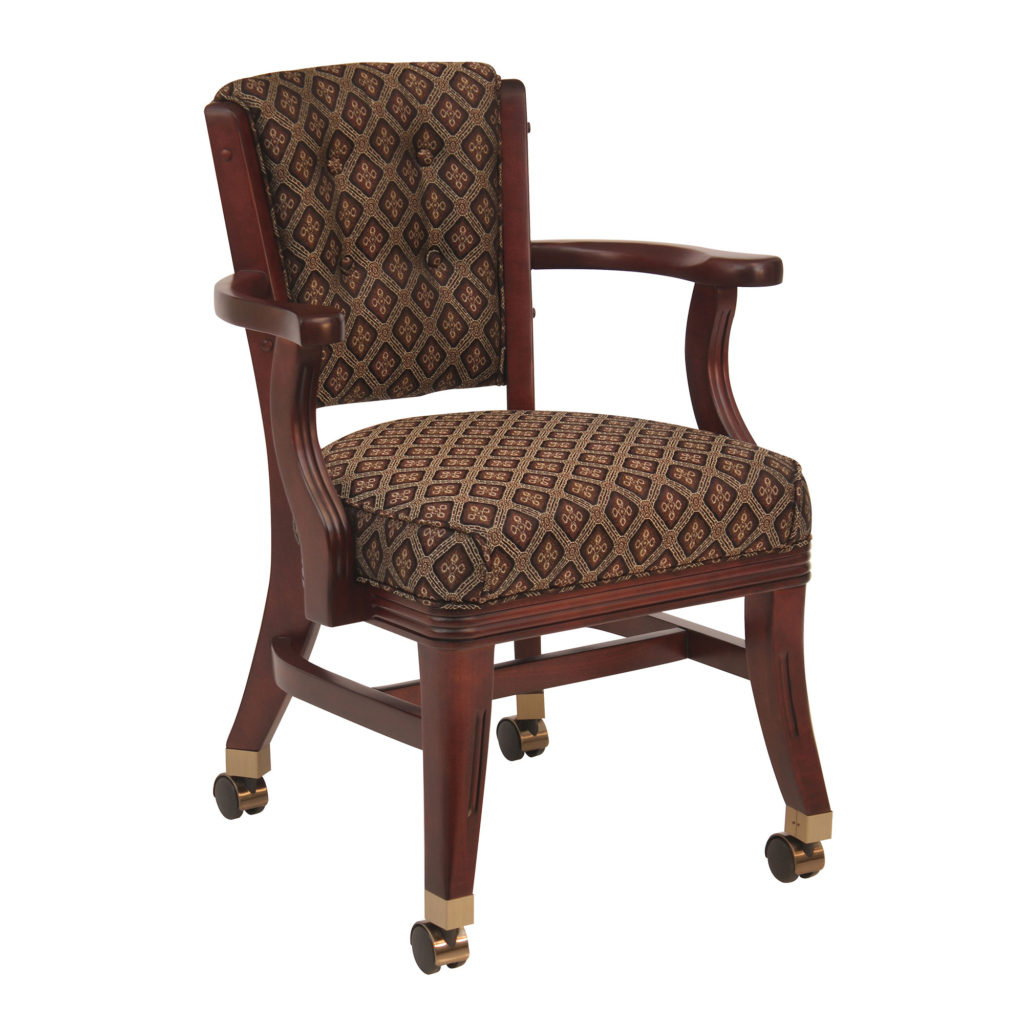 poker chairs with casters traditional wooden kitchen 960 club chair w darafeev billiards n more