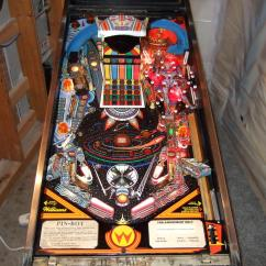Poker Table With Chairs Argos Wheelchair Covers Pinbot Pinball | Billiards N More