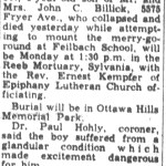 Billick, John C., Jr. (1948-1957)