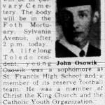 Osowik, John (1947-1962)