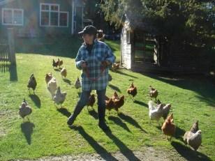 Billie Best got her first flock of chickens in 2003.