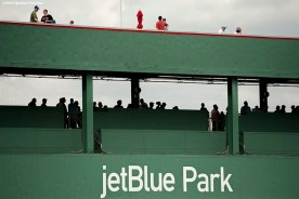 """""""Fans line up to receive autographs during an open house at JetBlue Park in Fort Myers, Florida Saturday, February 28, 2015."""""""