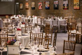 """""""Event decorations are shown during a B'Nai B'Rith event at Fenway Park in Boston, Massachusetts Tuesday, November 17, 2015."""""""