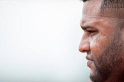 FT. MYERS, FL - FEBRUARY 24: Pablo Sandoval #48 of the Boston Red Sox looks on during a team workout on February 24, 2016 at Fenway South in Fort Myers, Florida . (Photo by Billie Weiss/Boston Red Sox/Getty Images) *** Local Caption *** Pablo Sandoval