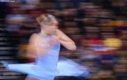 BOSTON, MA - APRIL 2: Nicole Rajicova of Slovakia competes during Day 6 of the ISU World Figure Skating Championships 2016 at TD Garden on April 2, 2016 in Boston, Massachusetts. (Photo by Billie Weiss - ISU/ISU via Getty Images) *** Local Caption *** Nicole Rajicova of Slovakia