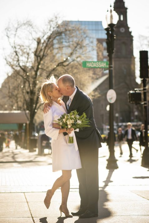 April 21, 2018, Boston, MA: The wedding of Mark Flaherty and Heather Freeman at Emmanuel Church, Boston Public Garden, and the Four Seasons Hotel in Boston, Massachusetts Saturday, April 21, 2018. (Photo by Billie Weiss)