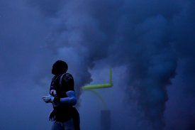 FOXBOROUGH, MA - DECEMBER 02: Matthew Slater #18 of the New England Patriots is introduced before a game against the Minnesota Vikings at Gillette Stadium on December 2, 2018 in Foxborough, Massachusetts. (Photo by Billie Weiss/Getty Images)