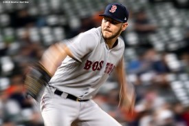 BALTIMORE, MD - MAY 8: Chris Sale #41 of the Boston Red Sox during the seventh inning of a game against the Baltimore Orioles on May 8, 2019 at Oriole Park at Camden Yards in Baltimore, Maryland. (Photo by Billie Weiss/Boston Red Sox/Getty Images) *** Local Caption *** Chris Sale