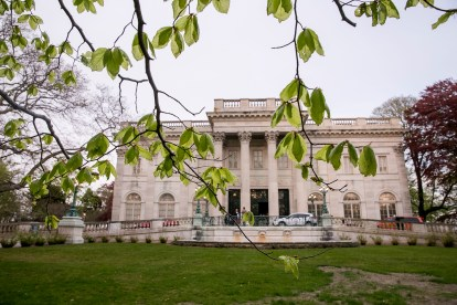 NEWPORT, RI - MAY 15: In this handout image provided by the Volvo Ocean Race, a sailor's party is held on May 15, 2015 at the Marble House in Newport, Rhode Island. The Volvo Ocean Race 2014-15 is the 12th running of this ocean marathon. Starting from Alicante in Spain on October 11, 2014, the route, spanning some 39,379 nautical miles, visits 11 ports in eleven countries (Spain, South Africa, United Arab Emirates, China, New Zealand, Brazil, United States, Portugal, France, The Netherlands and Sweden) over nine months. The Volvo Ocean Race is the world's premier ocean yacht race for professional racing crews. (Photo by Billie Weiss / Volvo Ocean Race via Getty Images)