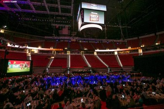 """The arena is shown at the sportsTravel Awards Gala at the UNLV Thomas & Mack Center during the TEAMS Conference & Expo Las Vegas, Nevada Wednesday, November 11, 2015."""