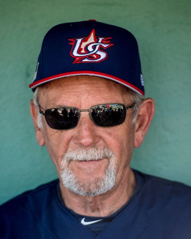 FT. MYERS, FL - MARCH 9: Manager Jim Leyland of Team USA speaks with the media before a Spring Training game against the Boston Red Sox on March 9, 2017 at Fenway South in Fort Myers, Florida . (Photo by Billie Weiss/Boston Red Sox/Getty Images) *** Local Caption *** Jim Leyland