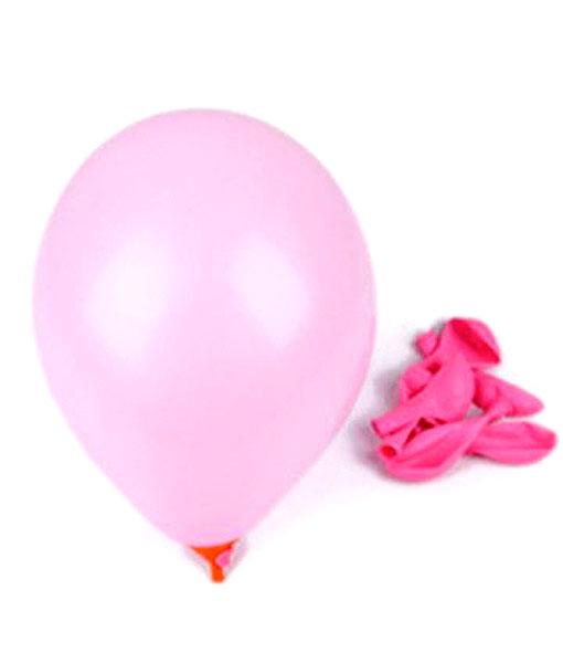 """Billige """"non toxic"""" lyserøde balloner til børnefødselsdag"""