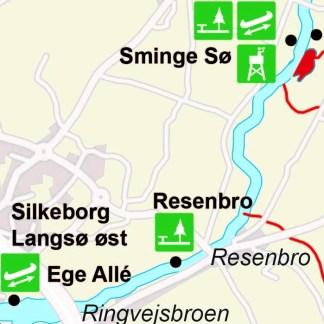 Book en 1-dags kanotur fra Silkeborg til Sminge
