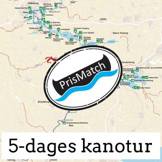 5-dages kanotur