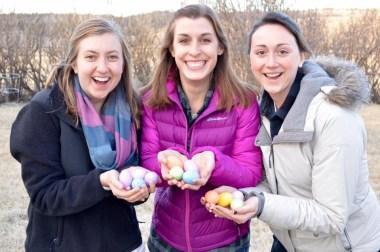 JV Easter egg hunt