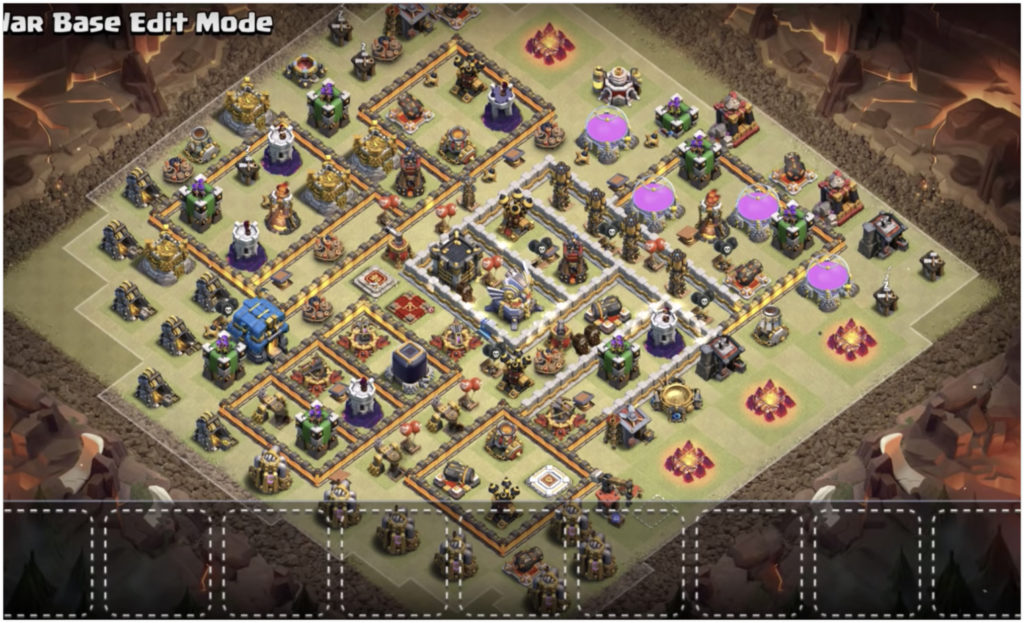 Clash of clans town hall u here are the best base layouts that
