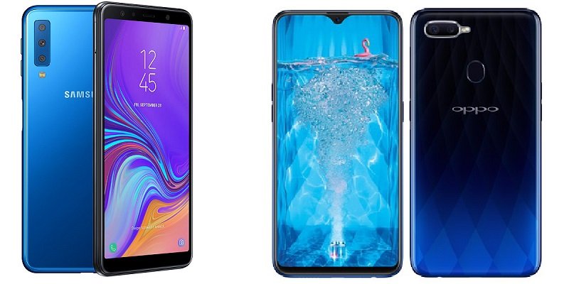 Samsung Galaxy A7 2018 Bs Oppo F9 Best Specs And Improvements