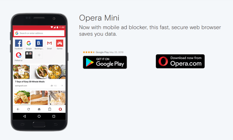 opera mini review