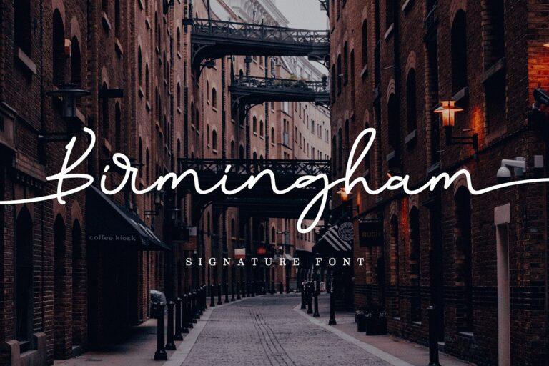 Preview image of Birmingham Signature