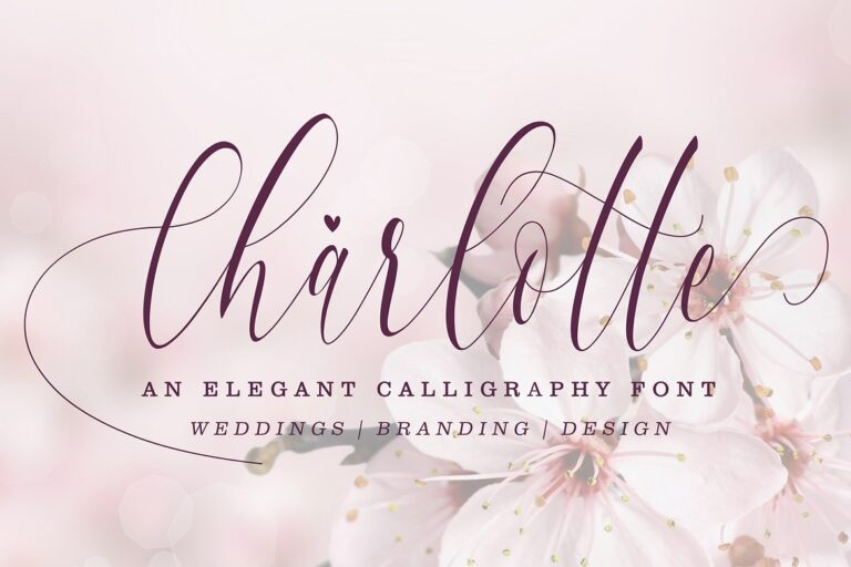 Preview image of Charlotte Calligraphy
