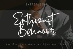 Enthusiast Behavior