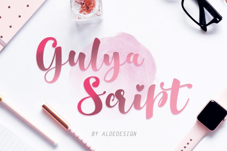 Preview image of Gulya Script
