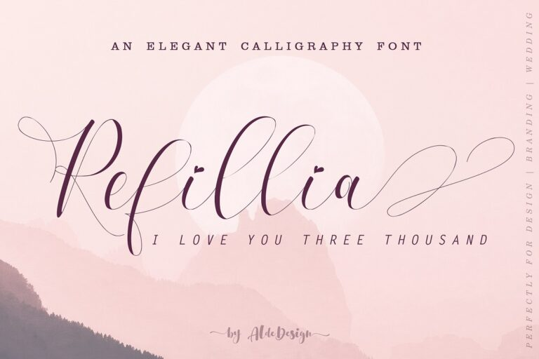 Preview image of Refillia Calligraphy