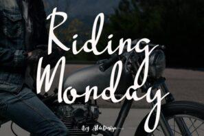 Riding Monday