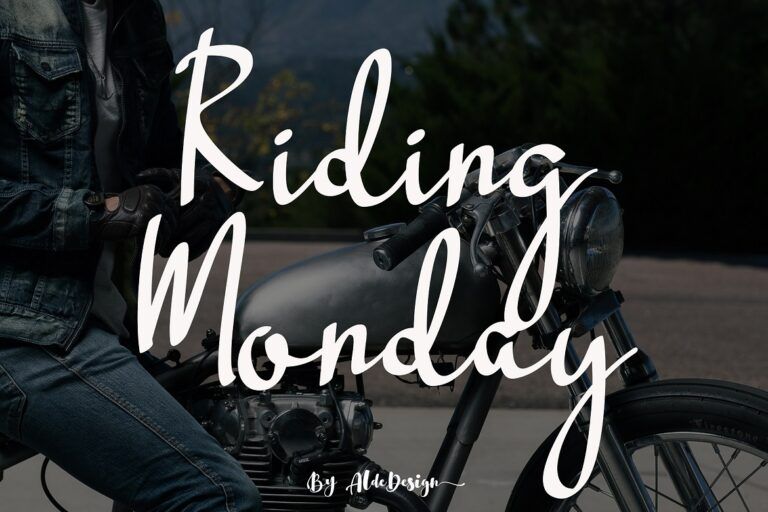 Preview image of Riding Monday