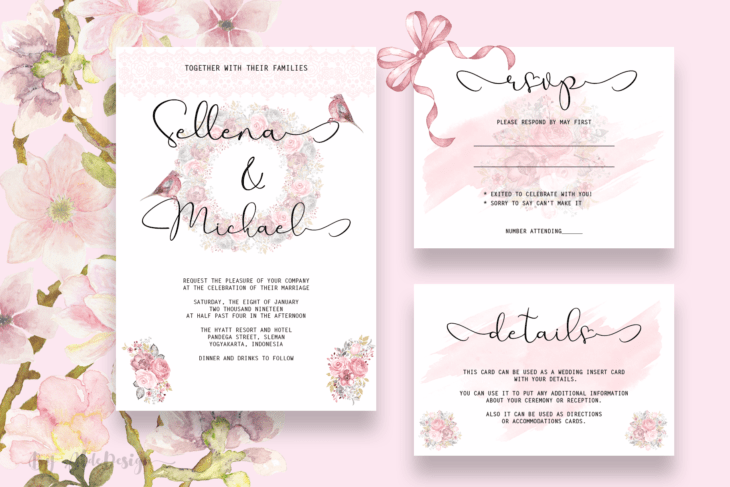 picture of THE INVITATION PERSONALISED WEDDING TYPOGRAPHIC PRINT