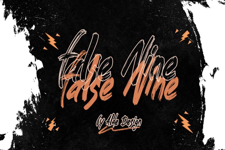 Preview image of False Nine – Strong Brush Fun