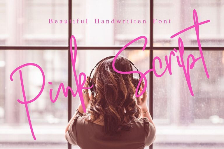 Preview image of Pink Script