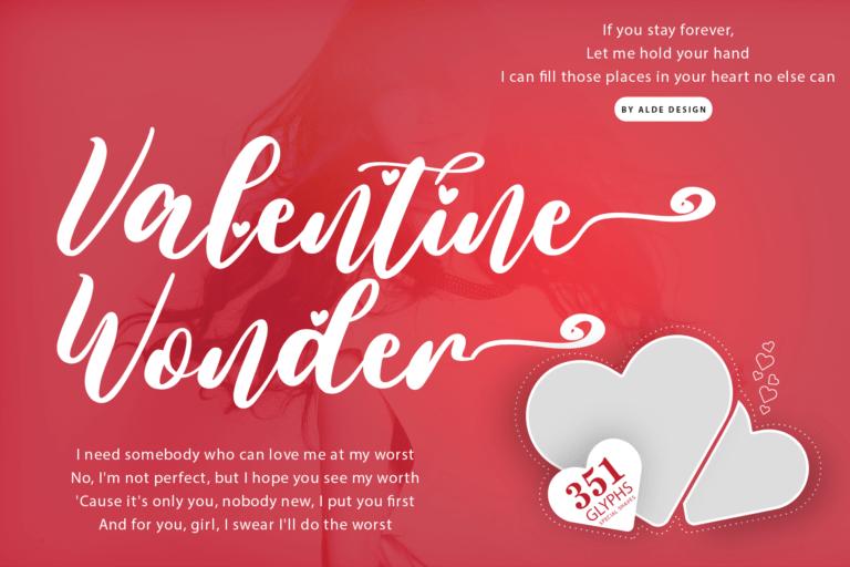Preview image of Valentine Wonder