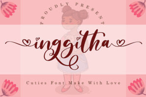 Inggitha - Wedding Font