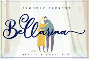 Bellarina - Wedding Font