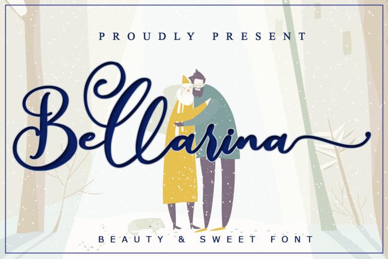 Preview image of Bellarina – Wedding Font