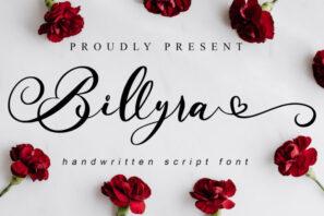 Billyra - Wedding Font